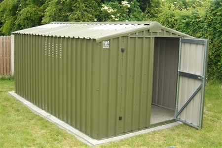 The Pros And Cons Of Metal Garden Sheds Shed Blueprints