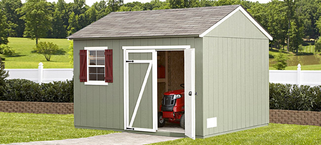 Purchasing storage shed building plans shed blueprints for Backyard storage shed plans