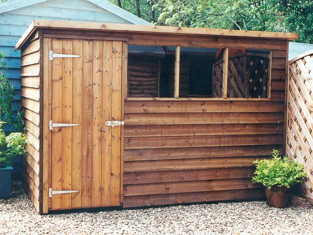 Backyard shed plans shed blueprints for Garden shed designs