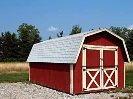 Madison Wi 10x14 Gable With Side Entry Door. Barn Shed