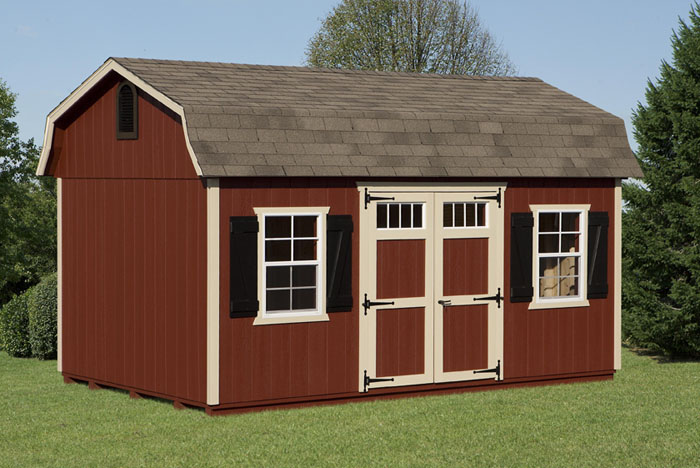 how to build a barn style shed