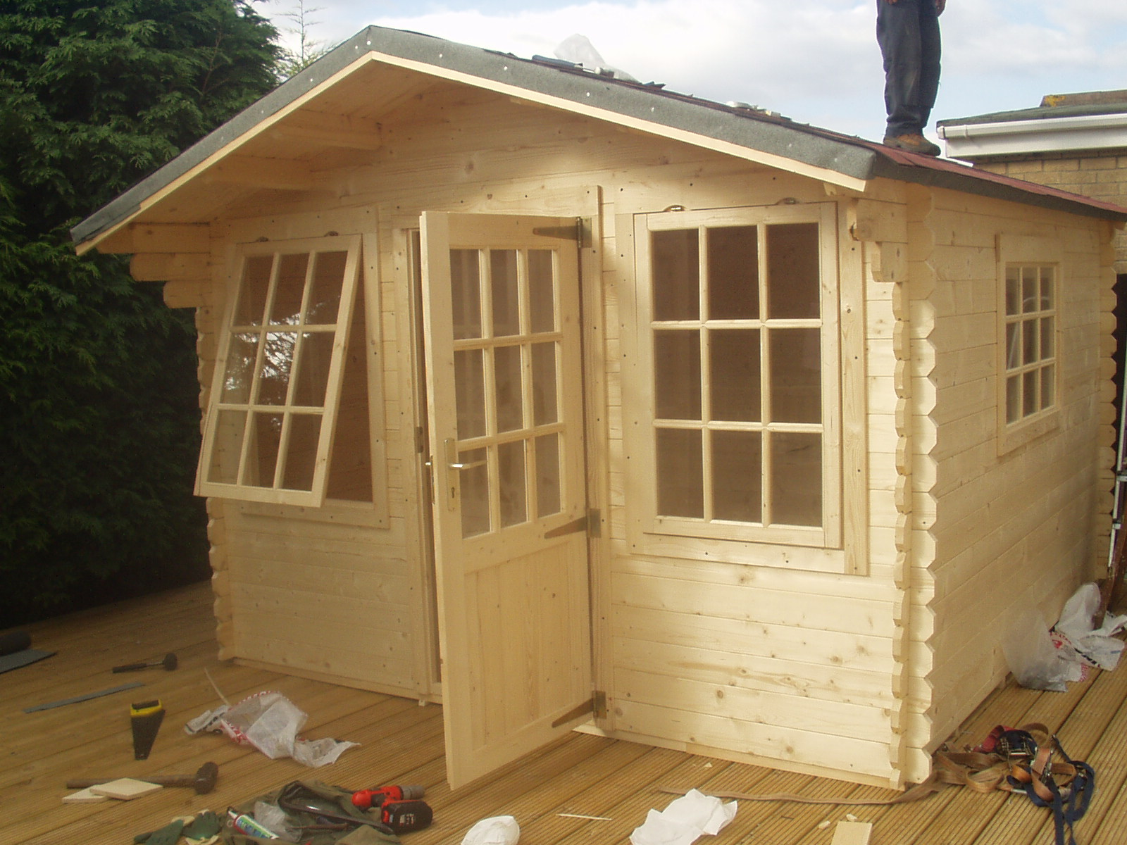 Build a storage shed avoiding the biggest mistake shed for Outside buildings design
