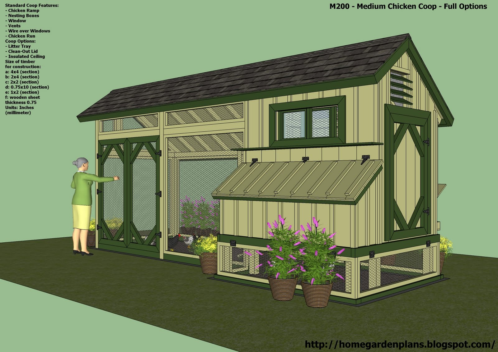 How to build a chicken coop design your own or use ready for Chicken coop house plans