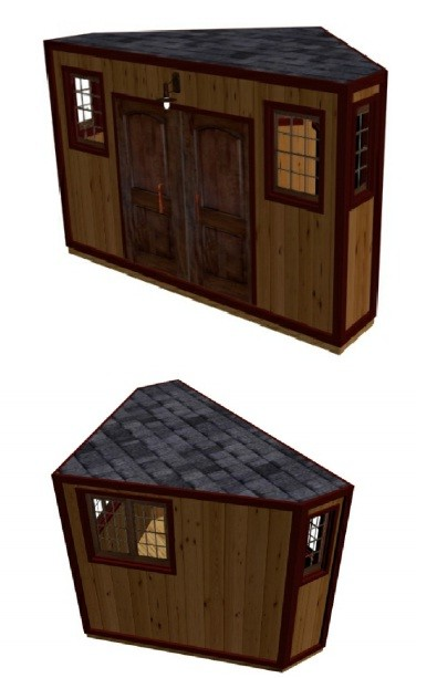 Cool Shed Designs and Plans | Shed Blueprints