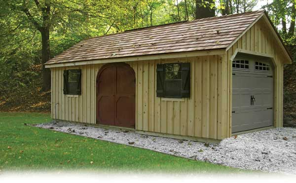 Custom Backyard Sheds : Shed Blueprints Benefits Of A Custom Designed Outdoor Shed