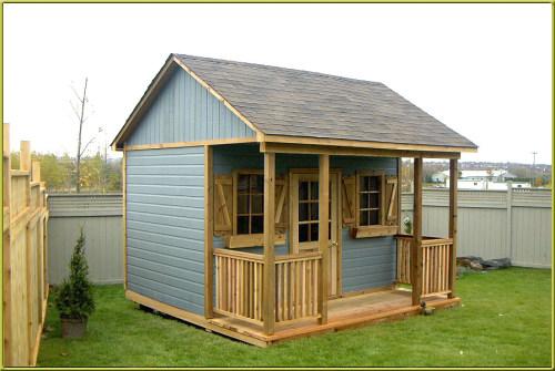 Building A Garden Shed Standard Design Or Custom Built