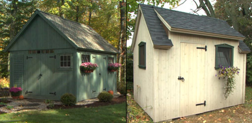 Building a Garden Shed Standard Design Or Custom Built Shed