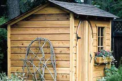 Garden storage shed plans choose your own custom design Design shed
