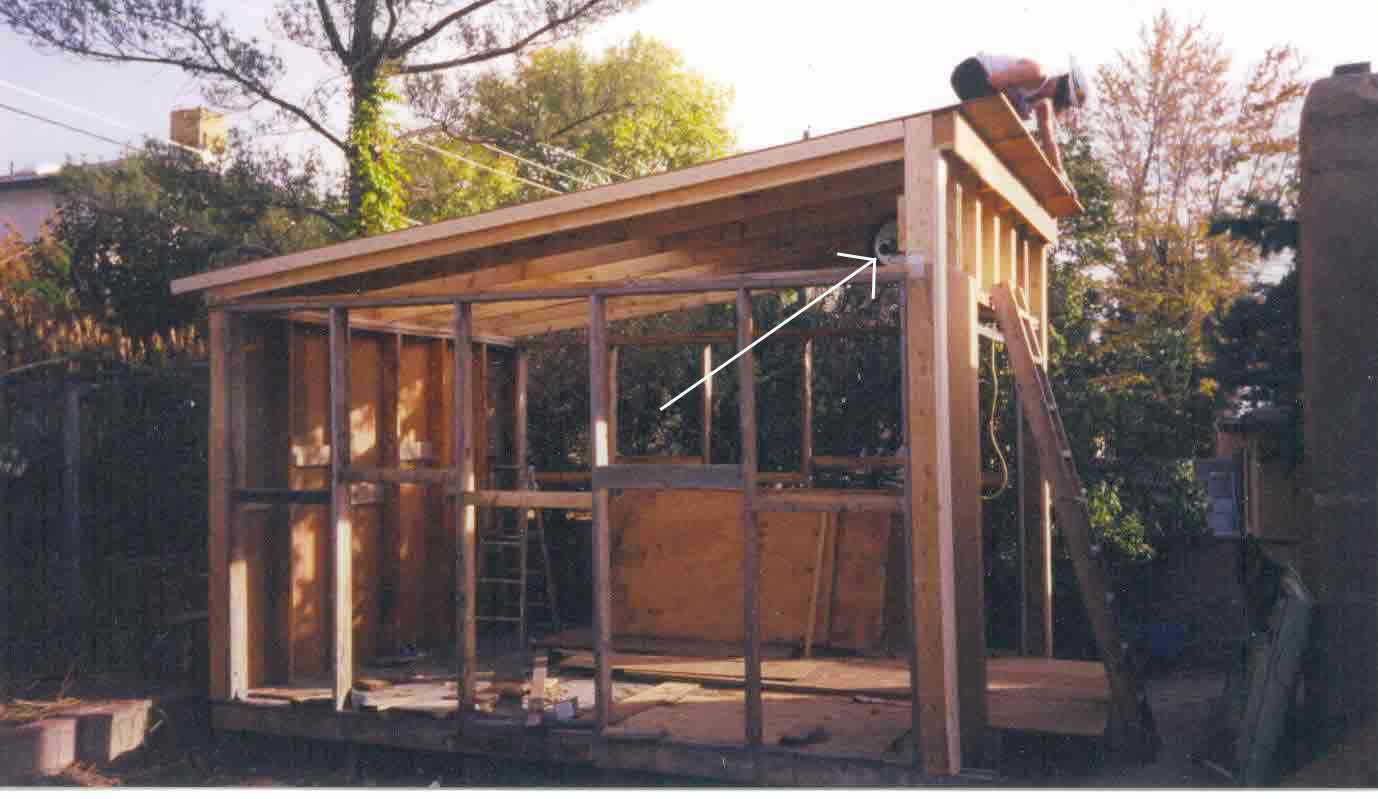 Integrating your garden shed design into your garden shed for Shed roofs