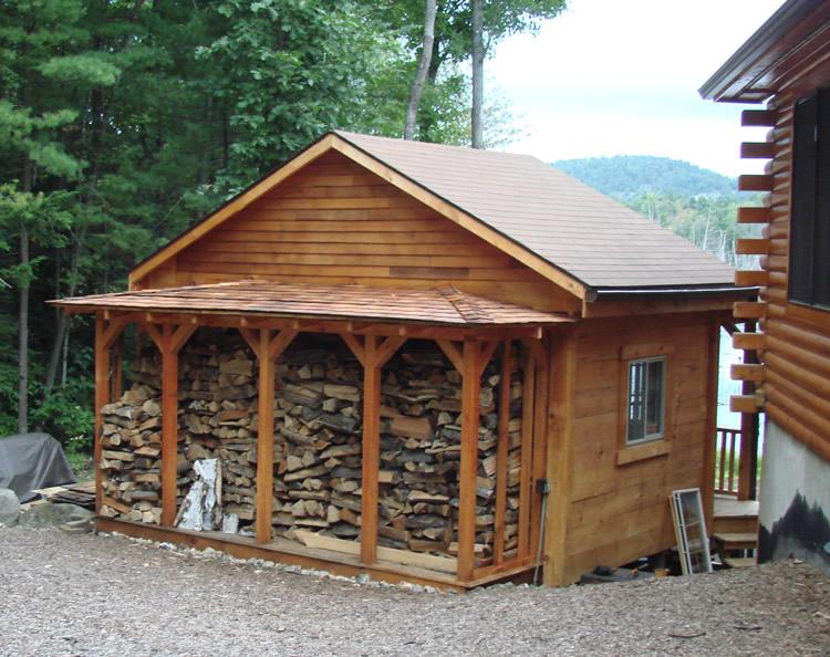 firewood strew ideas