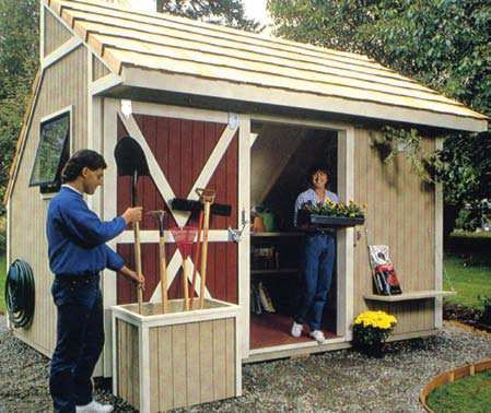 diy outdoor storage shed