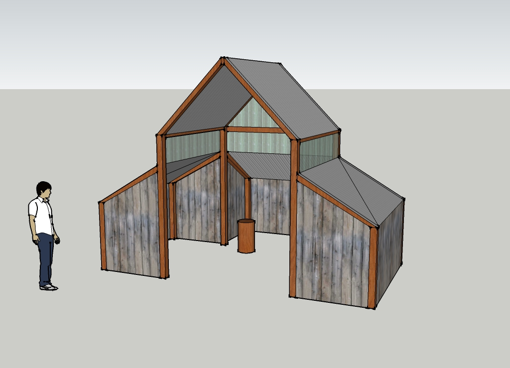 Woodshed plans free download pdf woodworking woodshed for Wood shed plans
