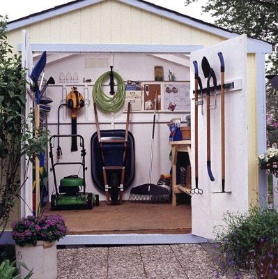 Garden Shed Interior