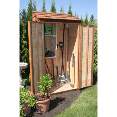 Garden Tool Shed | Shed Blueprints