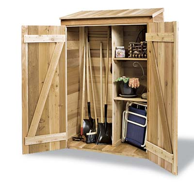 how to build a small garden tool shed Quick Woodworking