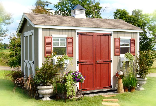 Best garden shed plans faru for Garden design kits