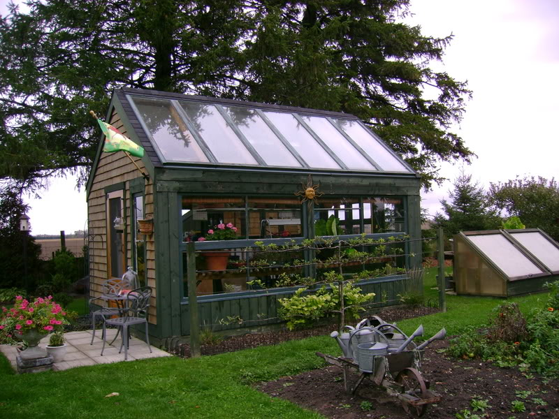 greenhouse shed designs - Garden Sheds With Greenhouse