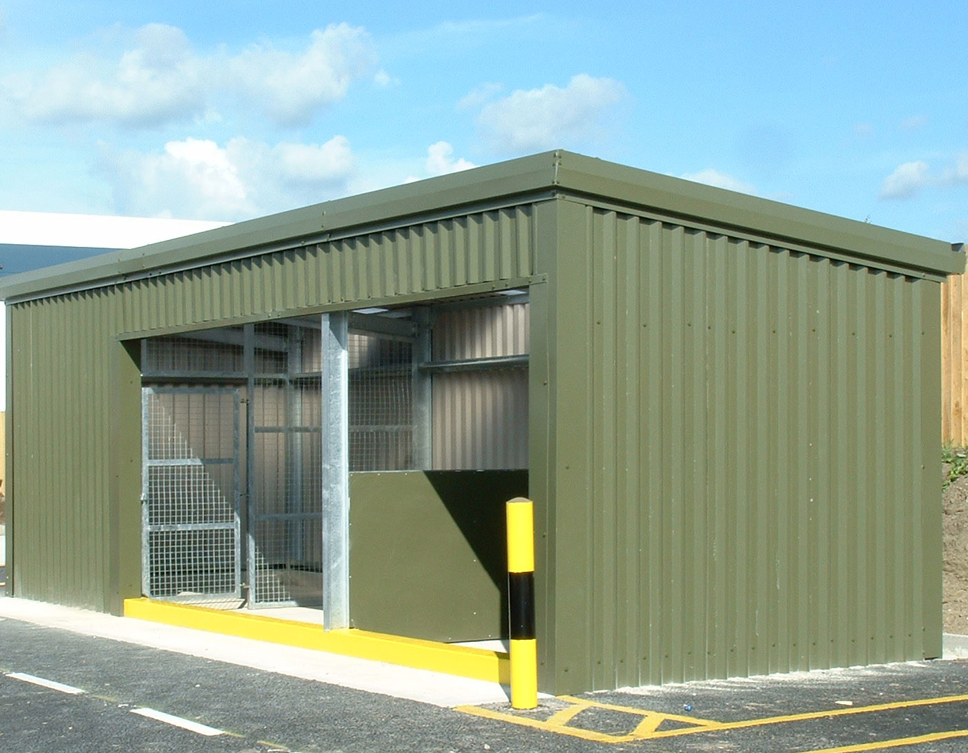 Industrial sheds design