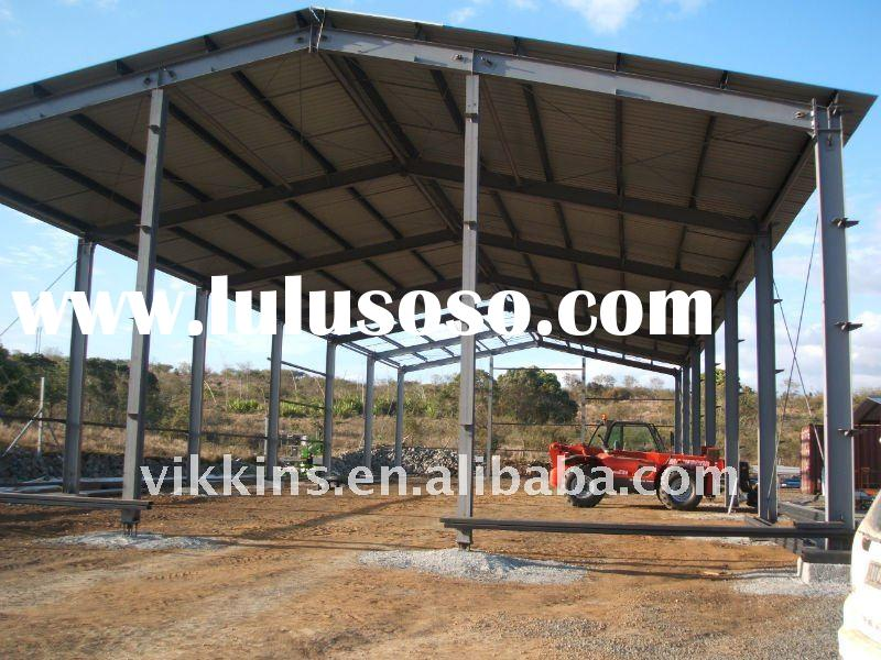 steel structure shed design pdf