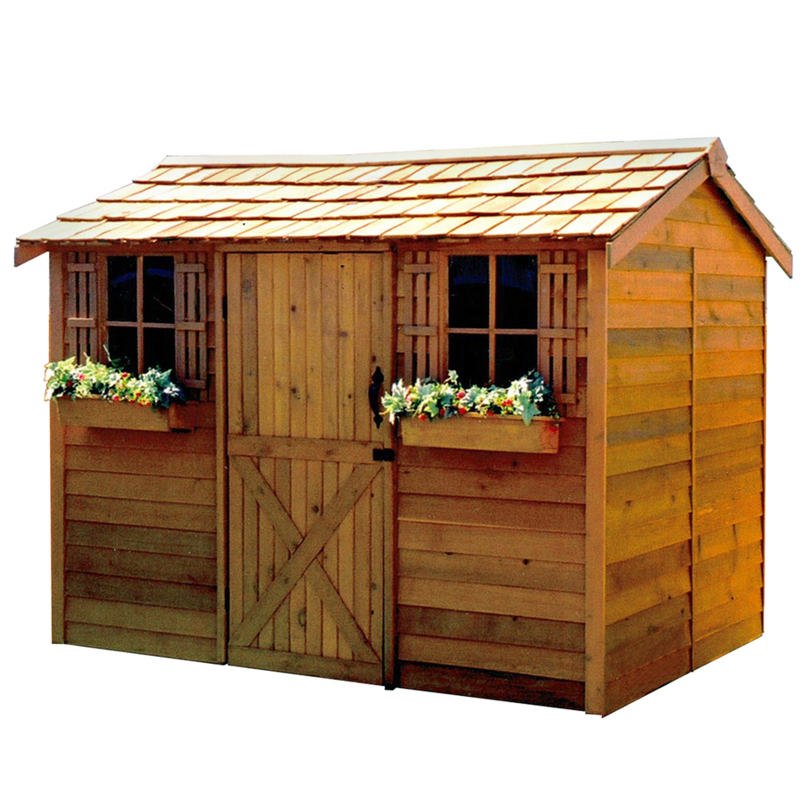 Shed Blueprints Gambrel Storage Shed Plans