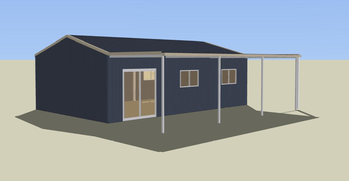 Live in a shed shed blueprints for Livable shed plans