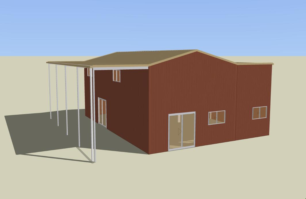 Live In A Shed Shed Blueprints