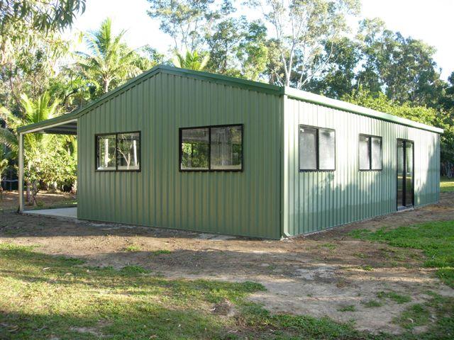 Livable sheds qld livable sheds townsville for Livable shed plans