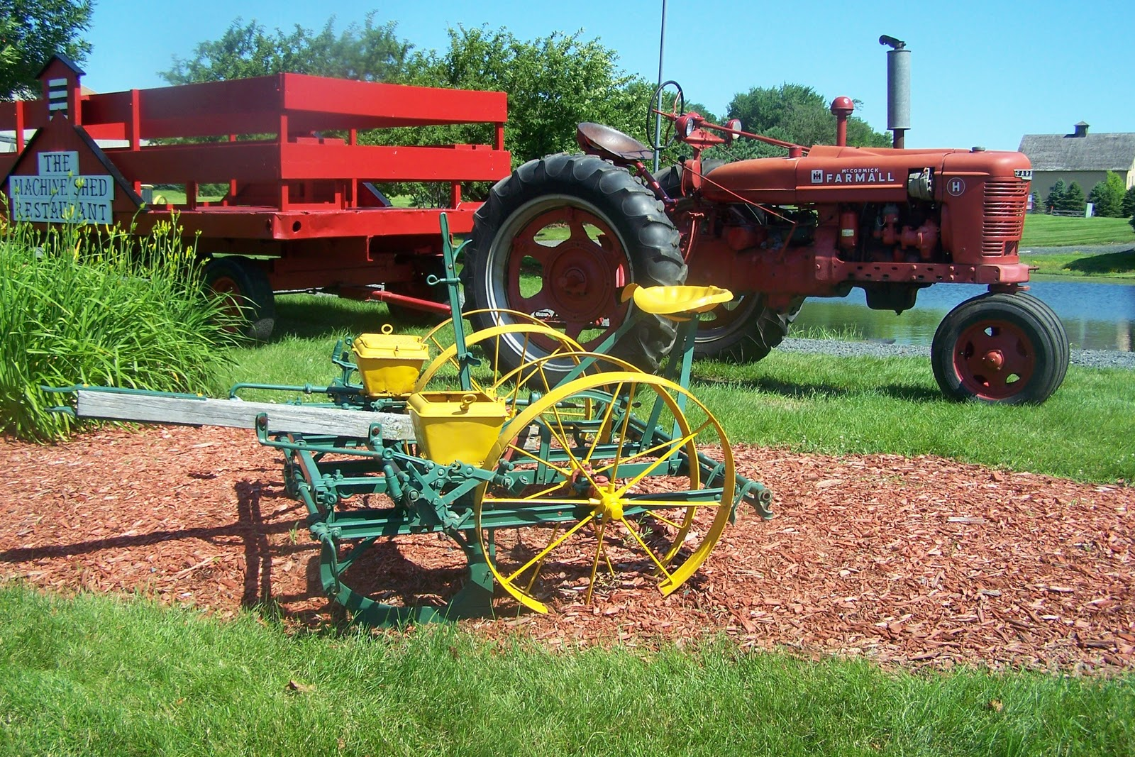 Agricultural Machinery Design : The all important farm shed blueprints