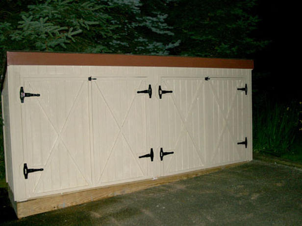 Simple And Easy Steps To Build a Garbage Storage Shed ...