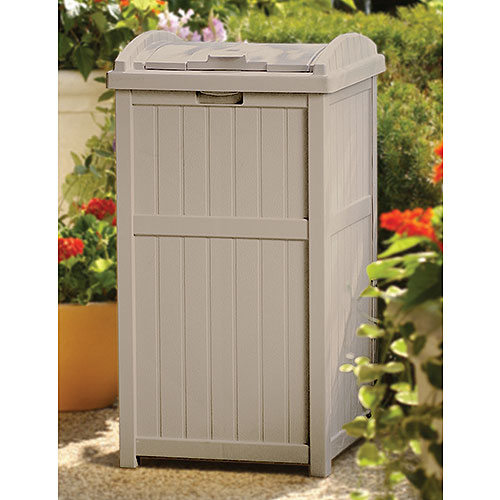 Outdoor Garbage Shed