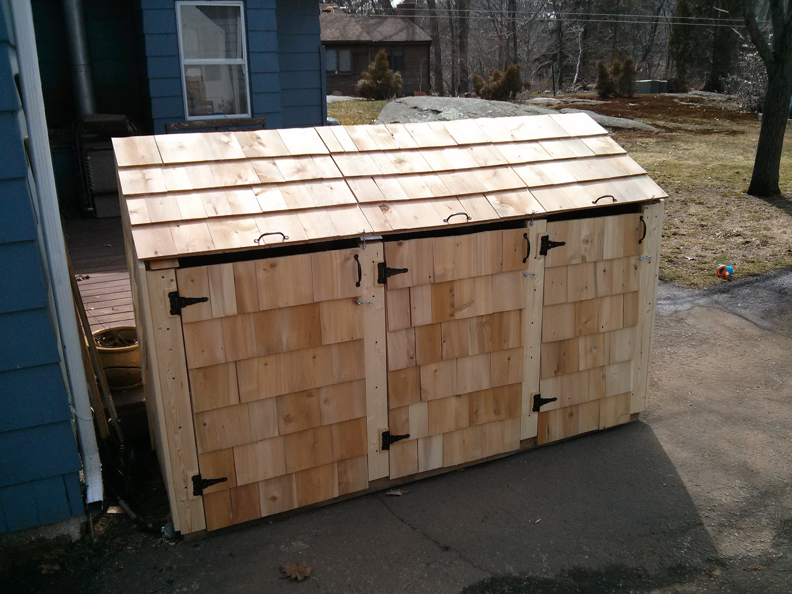 ... And Easy Steps To Build a Garbage Storage Shed | Shed Blueprints