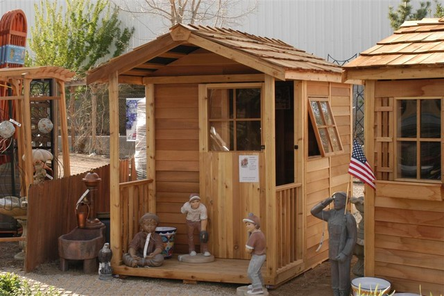 Outdoor Shed ? Big Ideas For Small Backyard Destination  Shed