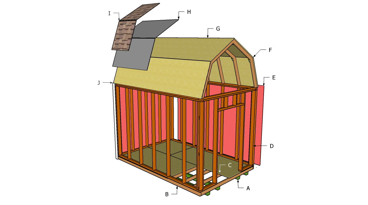 Information on outdoor shed plan shed blueprints Barn plans and outbuildings