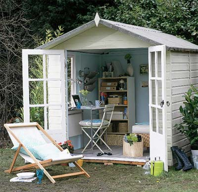 The easy way to construct your own shed using prefab sheds for Prefab garden office