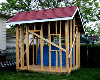 Shed blueprints backyard shed plans saltbox roof style shed for Salt shed design