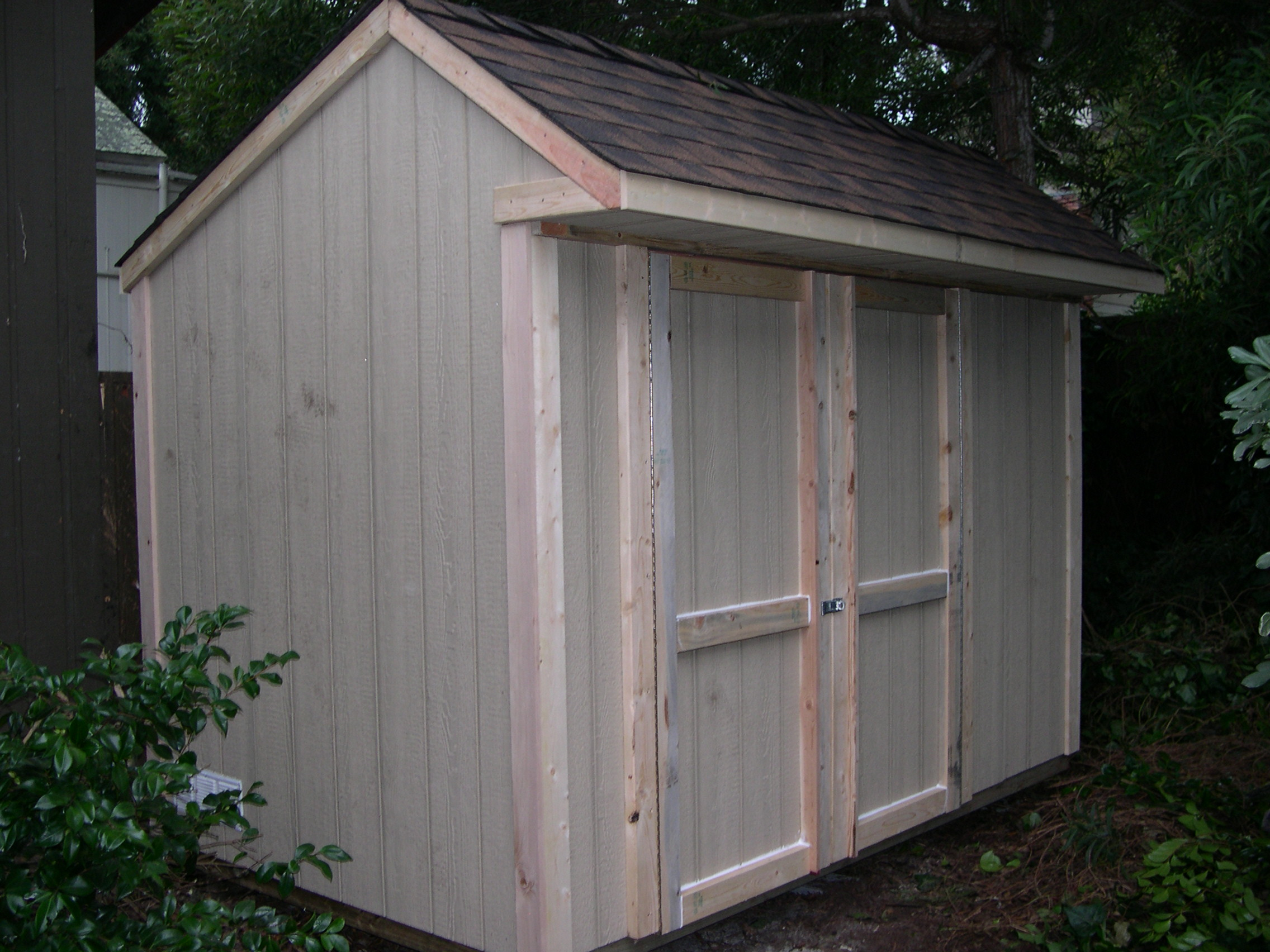 Shed blueprints backyard shed plans saltbox roof style shed for Saltbox barn