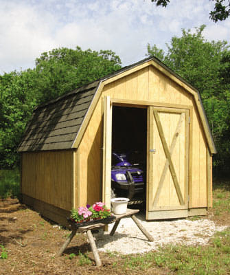 Free Back Yard Shed Plans