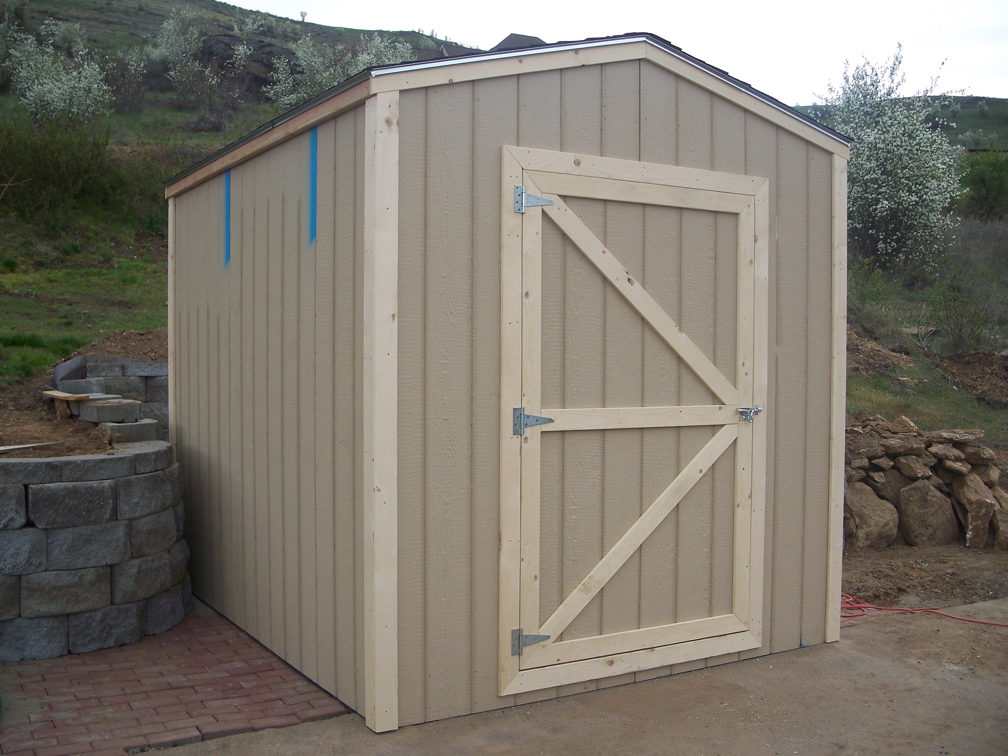 Build Your Own Set Of Replacement Wooden Shed Doors Using Shed Door ...