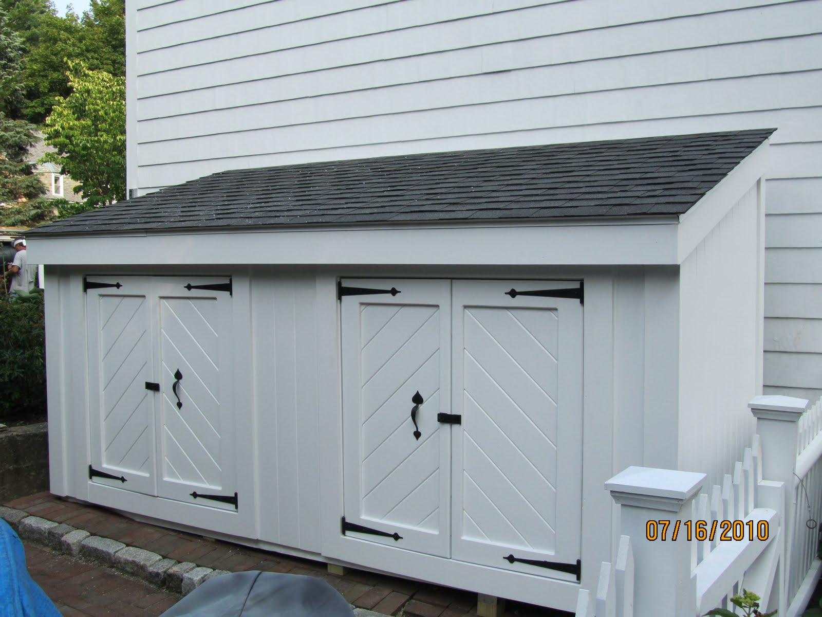 Shed Door Ideas charcoal to soften black and white colour palette kendall charcoal garage doors benjamin moore paint Shed Door Design Ideas Shed Door Design Ideas Shed Craftsman With Storage Shed Storage Shed Storage