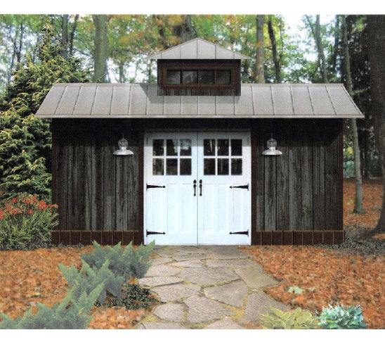 Learn how to build a shed door easily shed blueprints - Barn garage door designs ...