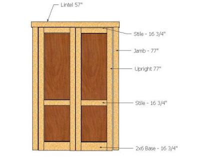 How To Buy Replacement Wood Shed Doors For Your Back Yard