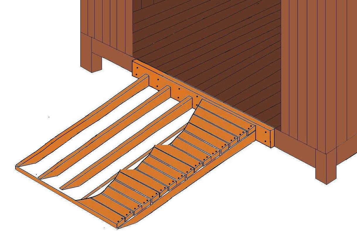 Wooden-Ramp-Plans Shed Blueprints: Outdoor Wood Storage Shed - Ramp ...