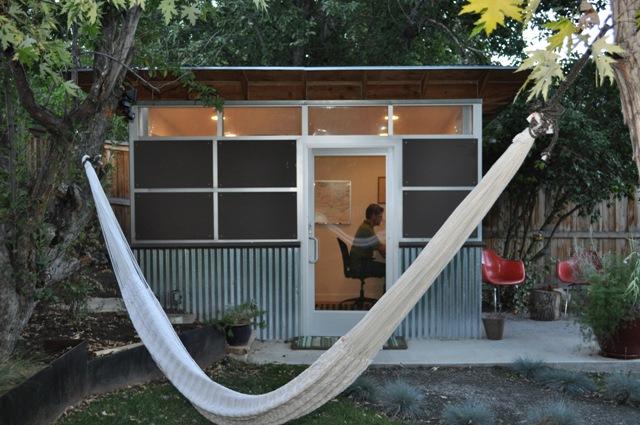 shed studio backyard office sheds