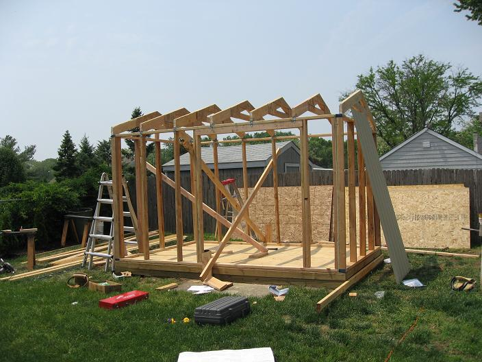 Shed blueprints plan for building sheds for Outdoor structure plans