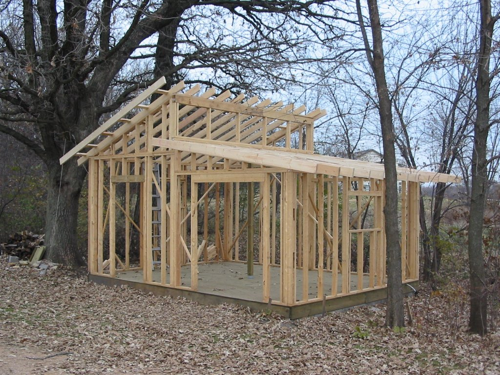 Small Shed Roof Cabin Plans