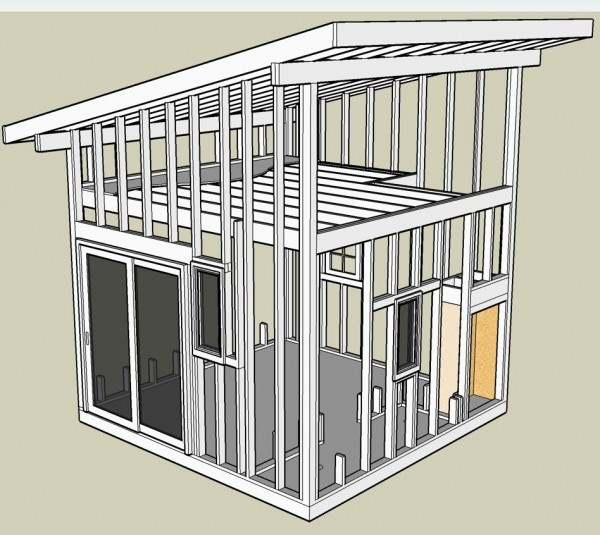 How to build a small shed plans and designs shed for Shed roof design ideas