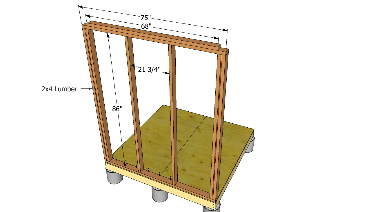 Shed blueprints small shed plans so simple you can do for Do it yourself blueprints