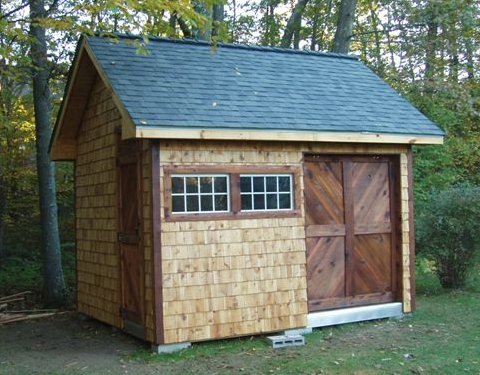 Shed plan designs building a wooden storage shed shed for Storage building designs
