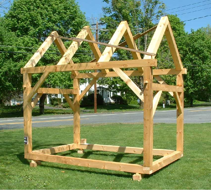 Timber Frame Shed Design & Acquire Do It Yourself Storage Shed Construction Plans | Shed Blueprints