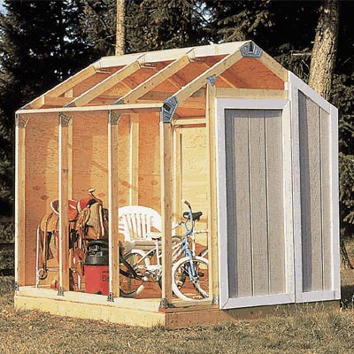 wood shed designs free